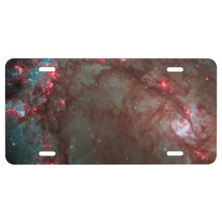 Star birth in Messier 83 License Plate