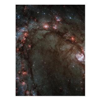 Star birth in Messier 83 Postcard
