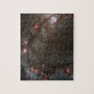 Star birth in Messier 83 Puzzle
