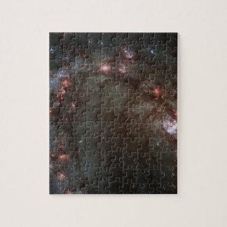 Star birth in Messier 83 Jigsaw Puzzle