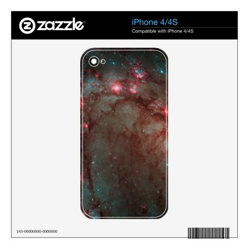 Star Birth Space photography iPhone 4S Decal