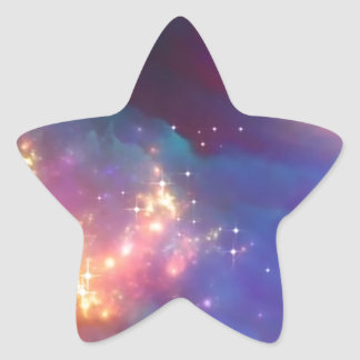 Star birth star sticker