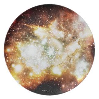 Star Birth Super Cluster Dinner Plate