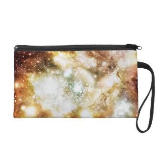 Star Birth Super Cluster Wristlet Purse