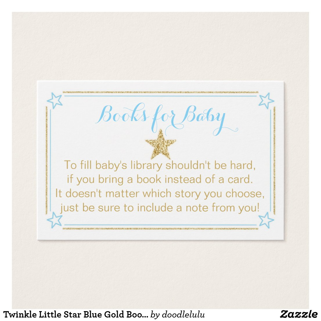 Star Blue Good Glitter Books For Baby