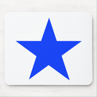 Star Blue The MUSEUM Zazzle Gifts Mouse Pad