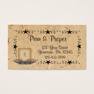 Candles business cards templates zazzle star border candle business card colourmoves Choice Image