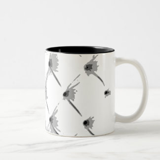 Star Bright White Two Tone Coffee Mug by Janz