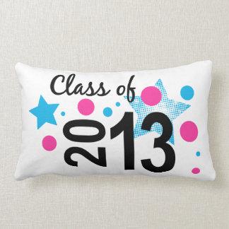 Star Bubble Grad 2013 Throw Pillow