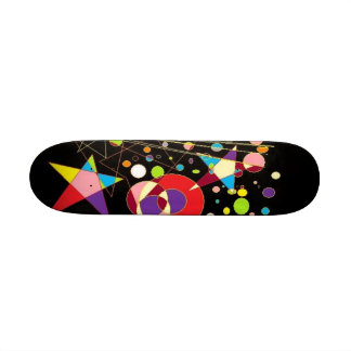star bubbles skateboard deck