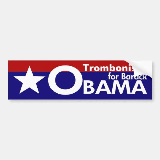 Star Bumper Sticker for Barack Obama