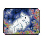 Star Bunny by Carrie Michael Rectangular Magnets