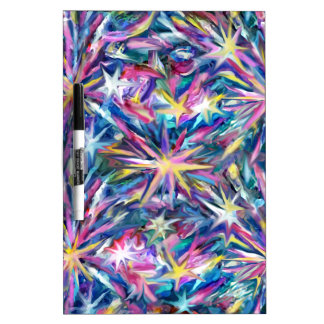 Star Burst 1 Dry-Erase Whiteboards