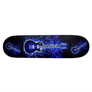 Star Burst Blue Guitar I Skateboard