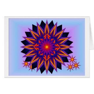 Star Burst Card