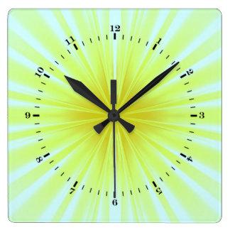 Star-burst Wall Clocks
