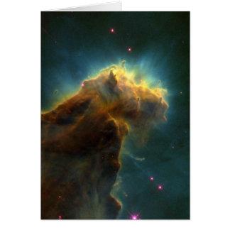Star Burst Cloud Card