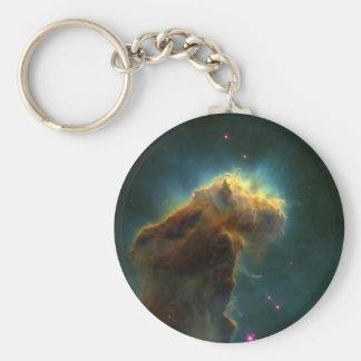 Star Burst Cloud Keychain