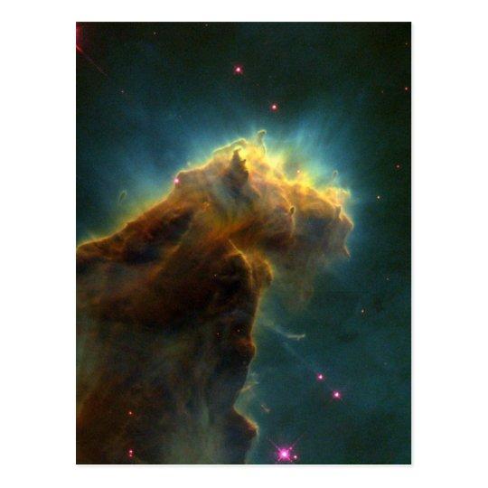 Star Burst Cloud Postcard