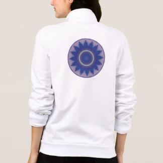 Star Burst Kaleidoscope Mandala Printed Jacket
