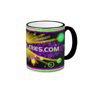star burst coffee mugs