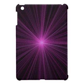 Star burst radiant glare sparkle iPad mini covers