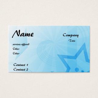 star business card