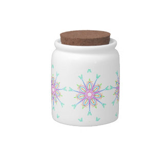 STAR BUST - HEAVENLY DIVINE PRINT CANDY DISH