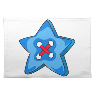 STAR BUTTON CLOTH PLACEMAT