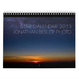 Star Calendar 2013