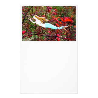 star carrying mermaid stationery