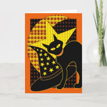 Star cat card