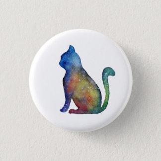 Star Cat Round Badge Pinback Button