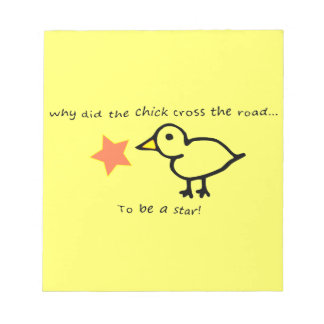Star Chick Notepad