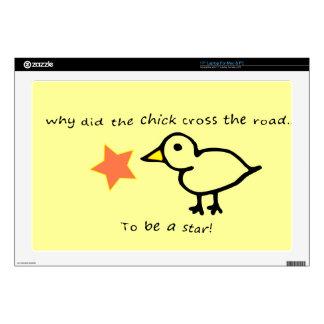 "Star Chick 17"" Laptop Decals"