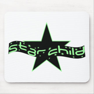 Star Child Mouse Pad