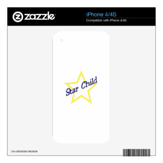 Star Child Skins For The iPhone 4
