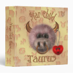 Star Child - Taurus Keepsake Album 3 Ring Binders