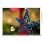 Star Christmas Card (blank inside)