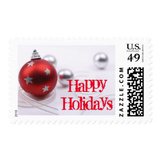Star Christmas Ornament Postage