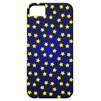 star christmas red yellow background iPhone SE/5/5s case