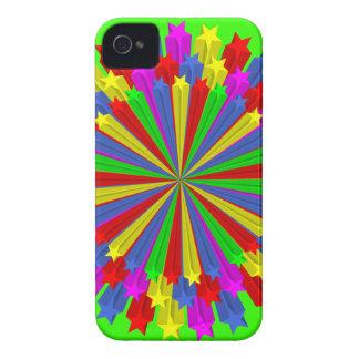 star_circle_Vector_Clipart Funda Para iPhone 4 De Case-Mate