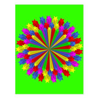 star_circle_Vector_Clipart Tarjetas Postales