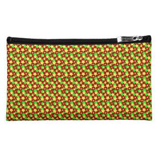 STAR CIRCUS! (red green & yellow) ~ Makeup Bags