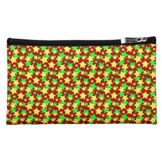 STAR CIRCUS! (red green & yellow) ~ Makeup Bag