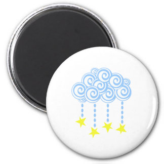 Star Cloud Fridge Magnets