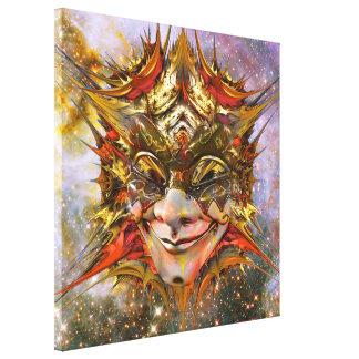 Star Clown Canvas Print