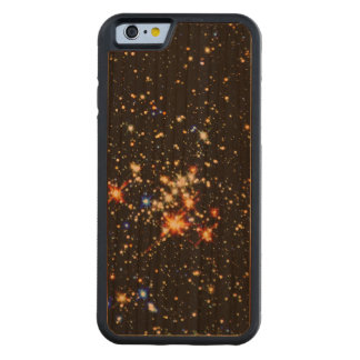 STAR CLUSTER (an outer space design) ~ Carved® Cherry iPhone 6 Bumper