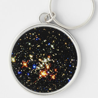 STAR CLUSTER an outer space design Key Chain