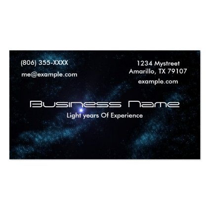 Star Cluster Business Card Templates